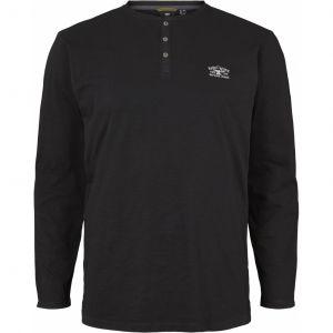 Replika Jeans - Granddad-shirt Black