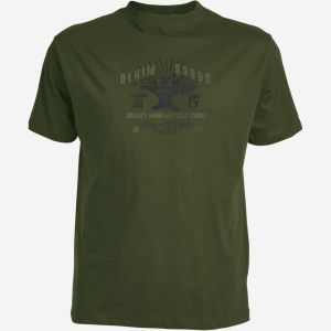 Replika Jeans T-Shirt - Denim Goods Dark Green
