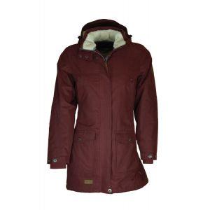 Blue Wave Wintercoat - Anke Burgundy