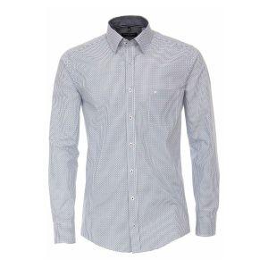 Casa Moda Casual Fit Shirt - White/blue