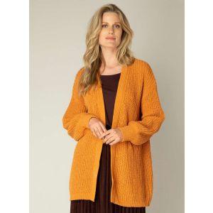Yest cardigan - Oetke orange