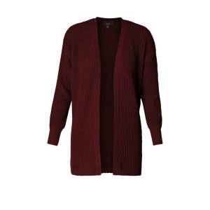 Yest cardigan - Oetke Wine Red
