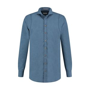 Blue Crane tailored fit shirt - Denim Blue