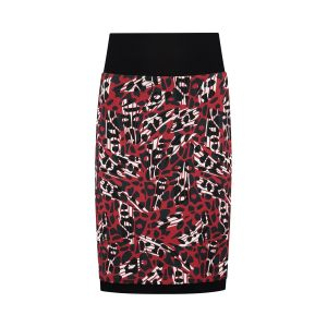 Chiarico - Skirt Coco Red Animal