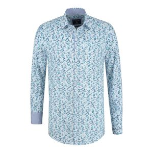 Corrino shirt - Milano Cool Leaves
