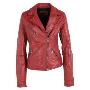 Deercraft - Bikerjacket Red
