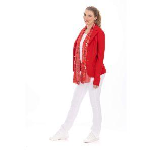 Only M Blazer - Tiffany red