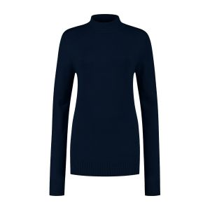 Casa Mia - Basic Sweater Dark Blue