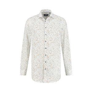 Ledûb Modern Fit Shirt - Warm Dots