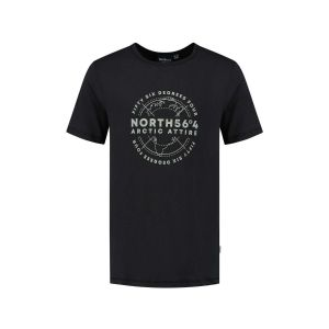 North 56˚4 T-Shirt - Artic Attire Black