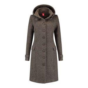 Only M - Wool Wintercoat Brown