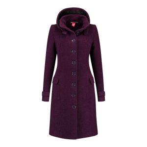 Only M - Wool Wintercoat Purple