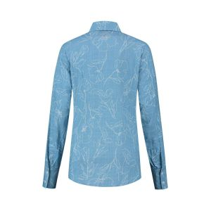 Only M - Blouse Fiori Blue