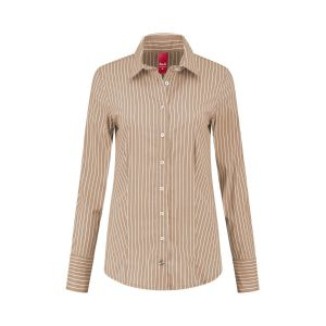 Only M - Blouse Righe Brown