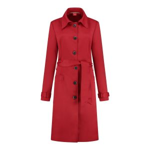 Only M Trenchcoat - Dolce Red