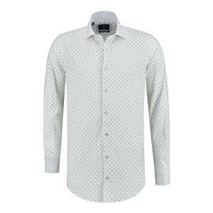 Corrino Shirt - Paisley white