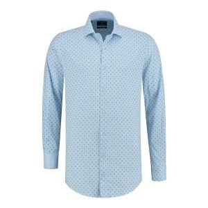 Corrino Shirt - Paisley light blue