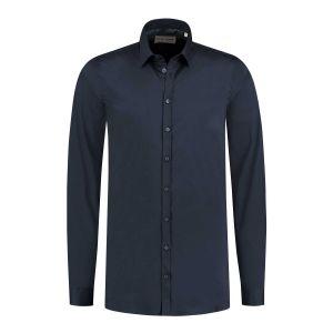Blue Crane slim fit shirt - Dark Blue