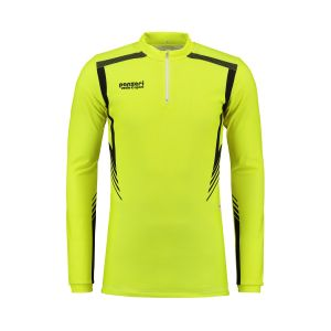 Panzeri San Diego - Shirt Long Sleeves Zip Neon Yellow