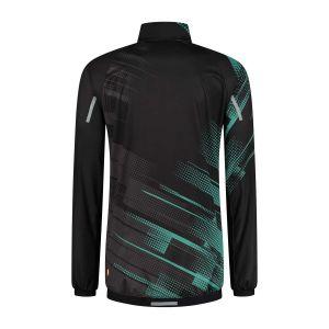 Panzeri Giro - Cycling jacket black/turquoise