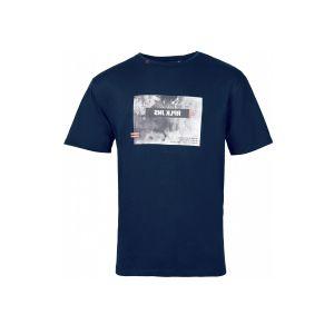 Replika Jeans T-Shirt - Print Navy