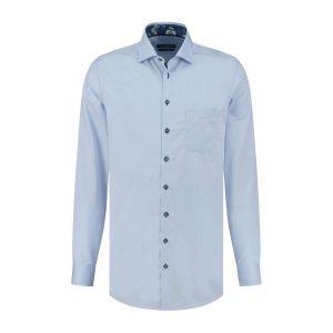 Ledûb Modern Fit Shirt - Light Blue
