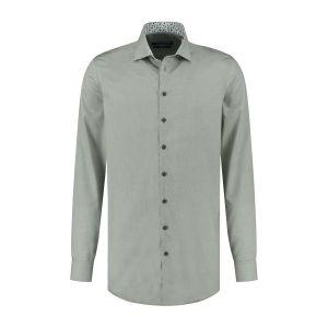 Ledûb Modern Fit Shirt - Green