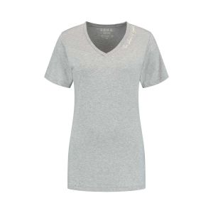 SOHO V-Neck Shirt - Future Silver Grey