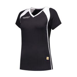 Panzeri Milano Cap Sleeves Shirt - black