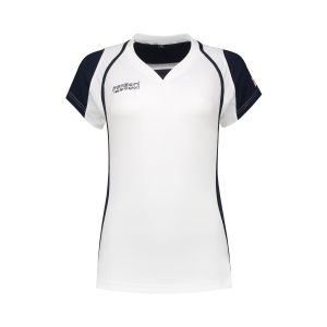Panzeri Cannes Cap Sleeves Shirt - White