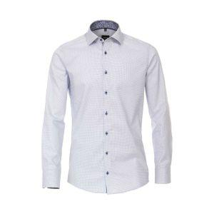 Venti Modern Fit Shirt - Kent Light Blue