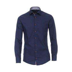 Venti Modern Fit Shirt - Kent Dark Blue