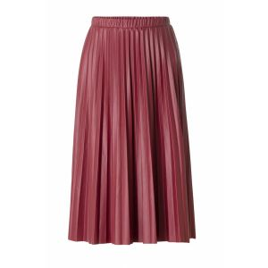 Yest Pleated Skirt - Aiko Red