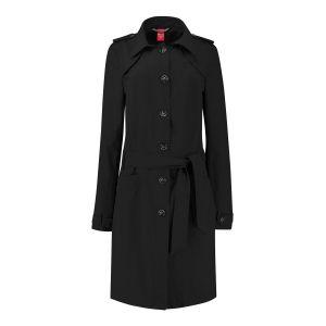 Only M Trenchcoat - Imprime Black